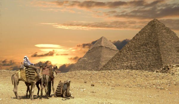 How Large are the Egyptian Pyramids?