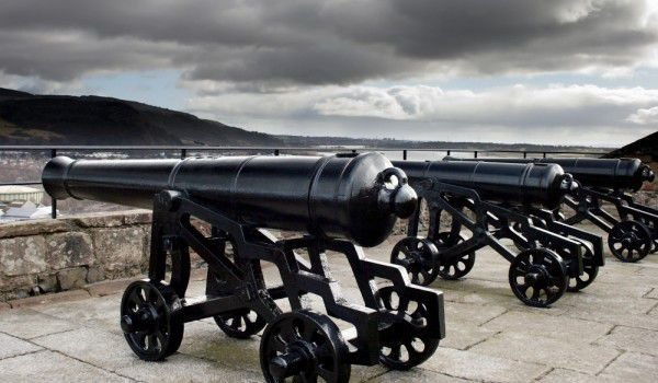 Connons at Dumbarton Castle