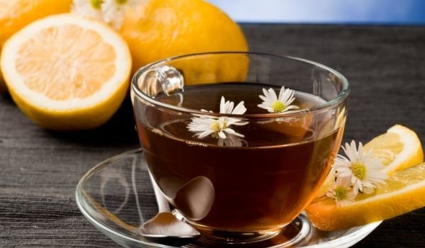 citrus and tea