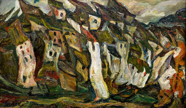 Chaim Soutine Painting