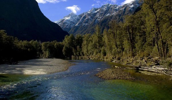 Clinton River, Fiordland National Park