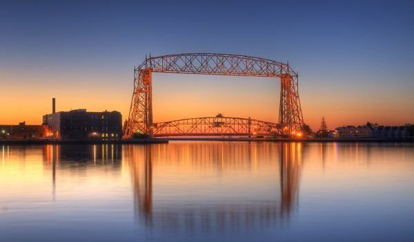 Lake Superior and Duluth, Minnesota