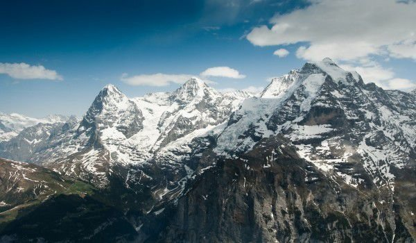 Swiss Alps - Eiger, Monch and Jungfrau