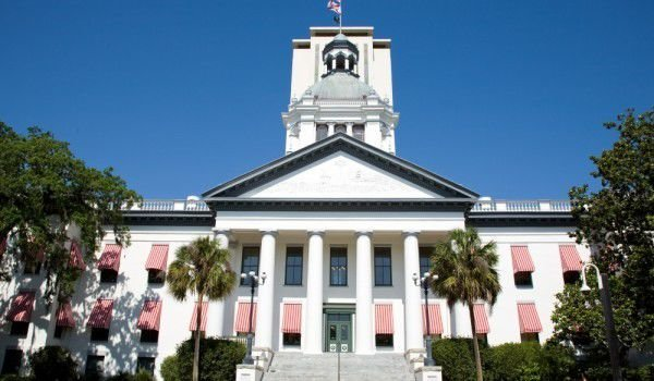 Old Florida Capitol in Tallahassee