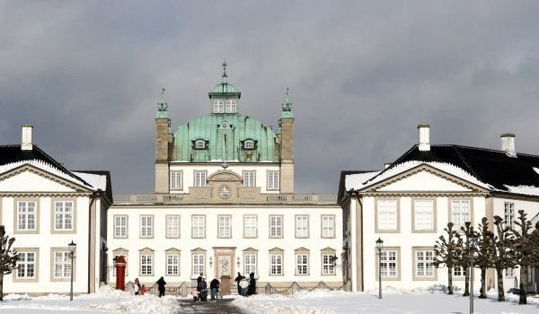 Fredensborg Palace in Denmark