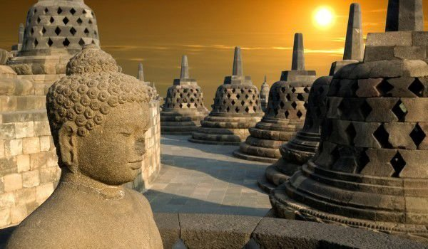 Monuments in Borobudur