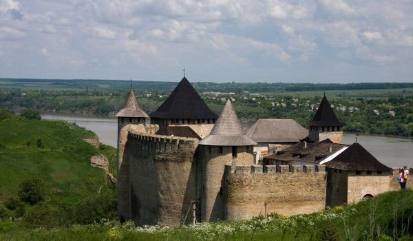 Khotyn Fortress in Ukraine