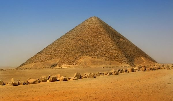 Pyramid of King Snerfu at Dahshur