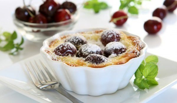 Desserts with Cherries