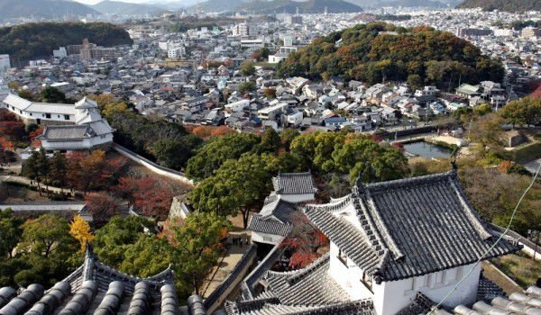 Kyoto from Himeji Castle