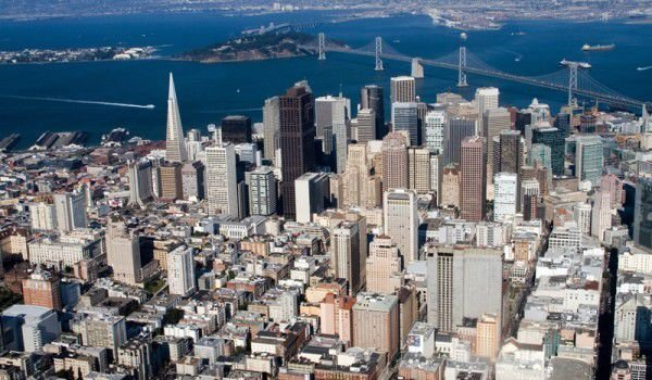 Sanf Francisco Aerial View