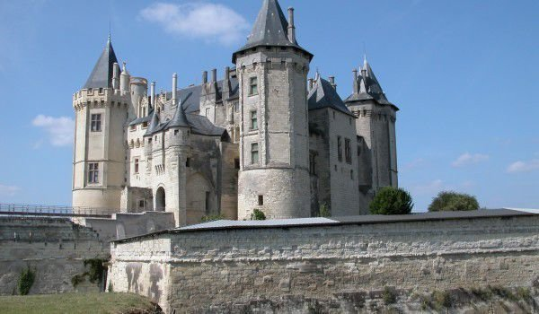 Saumur Castle in France