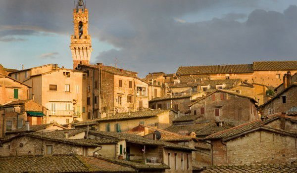 Medieval Town of Siena, Italy