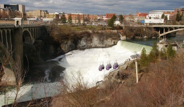 Spokane and Spokane Falls