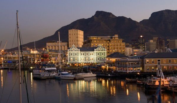 Table Mountain and Cape Town