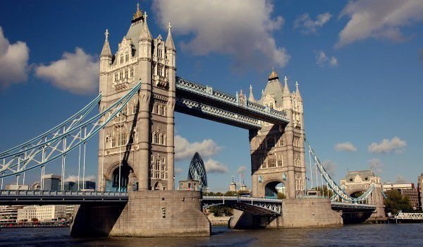 Tower Bridge in London