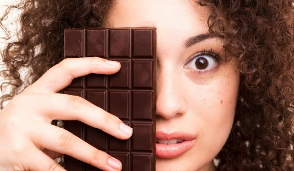 Woman with Chocolate