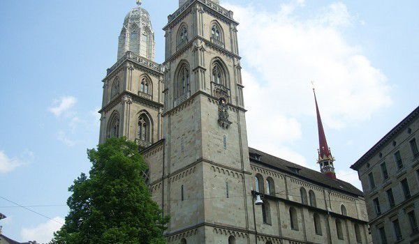 Grossmünster Cathedral in Zurich