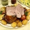 Lamb Leg with Potatoes