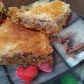 Festive Baklava with Cake Dough