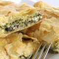 Onion Desserts - Zelnik with Spinach and Onions