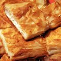 Parsley Desserts - Phyllo Pastry with Cottage Cheese