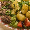 Tricks for preparing meat and potatoes