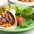 Meat and Coriander Recipes - Fajitas with Veal