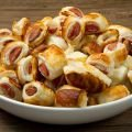 Puff Pastry Bites with Ham and Vienna Sausages