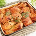 Meat and Coriander Recipes - Moroccan-Style Roasted Chicken