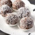 Bonbons with Buckwheat and Sesame Tahini