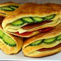 Homemade Pocket Sandwiches