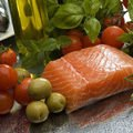 Salmon with Tomatoes in the Oven
