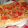 Foccacia with Tomatoes and Onions