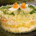 French Layered Salad