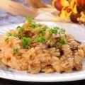 Rice with Mushrooms and Cream