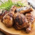 Meat and Coriander Recipes - Spicy Grilled Chicken