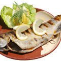 Roasted Trout with Mango and Mushrooms in Foil