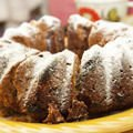 Powdered sugar Desserts - Cake with Vegetable Oil