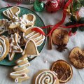 Christmas Honey-Gingerbread Cookies