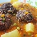 Meatballs with Peas and Potatoes