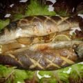 Sea Bass Cooked in Baking Paper