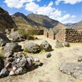 Incas - The ancient city of Vilcabamba in Peru