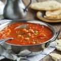 Soup with Pasta and Chickpeas