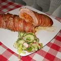 Meat Roll with Mince and Bacon