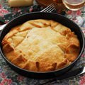 Onion Pie with Chicken
