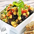 Mediterranean Vegetables with Chickpeas
