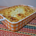 Gratin with Chicken and Cream