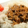 Beef Kebab with Rice