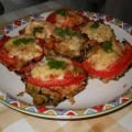 Stuffed Mushrooms with Rice and Veggies